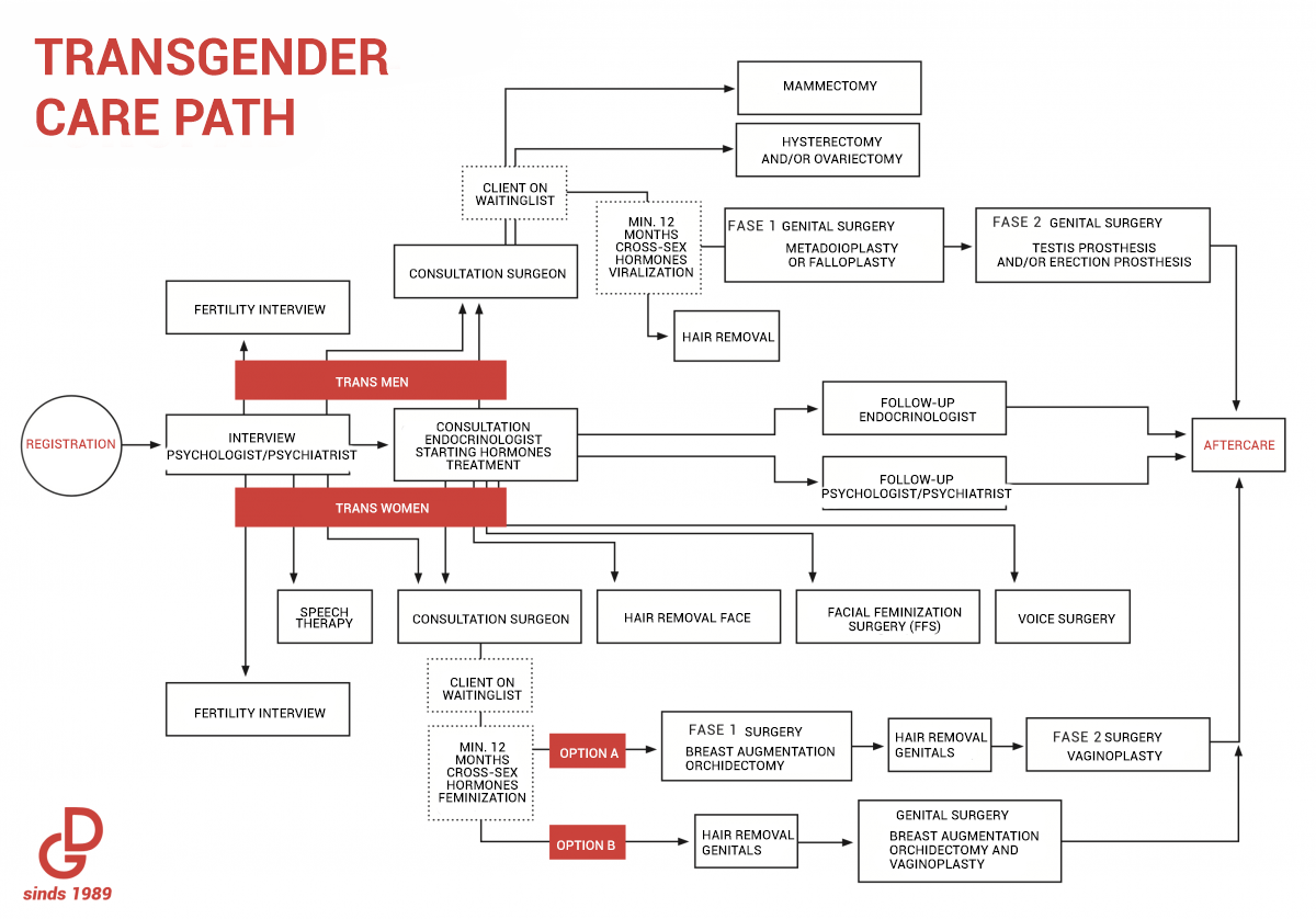 transgender care path